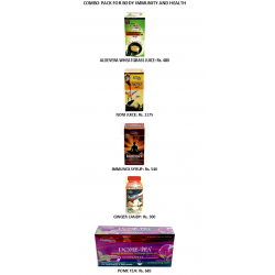 Combo Pack For 100% Guaranteed Solution For Body Immunity and Health